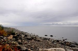 Rocky beach by the Gulf of Bothnia